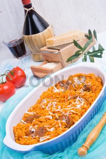 tasty Greek kritharaki