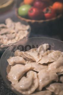 Pierogi, traditional polish food