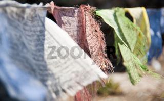 Tibetische Gebetsfahnen prayer flags