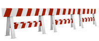 Row of Roadblocks