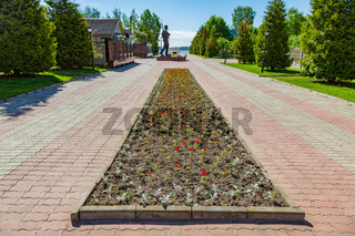 Memorial complex dedicated to the victory in the Second World War, Myshkin, Russia