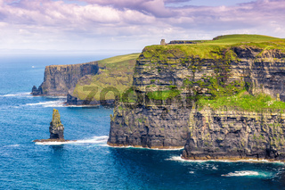 Cliffs of Moher Klippen Irland Reise Meer Natur Ozean