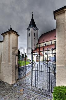 Stift Ardagger, in Ardagger, Mostviertel, Niederösterreich, Österreich, Europa