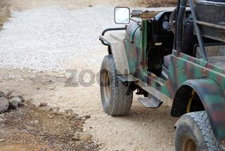 Old off-road car