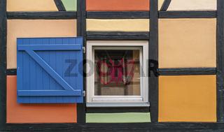 Fensterdetail am Fachwerkhaus