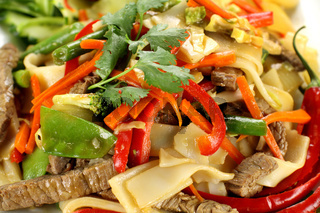 Beef Noodle Stirfry