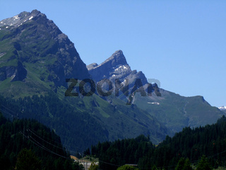 Mountain Einshorn in Spülgen Switzerland