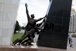 Denkmal für die Opfer der Aufstände von 2002 und 2010, Bischkek, Kigisistan