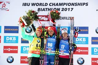 IBU Biathlon WM Hochfilzen 2017 - Sprint Frauen