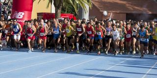 Maratoneti alla partenza