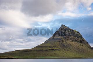 Berg Kirkjufell in Island