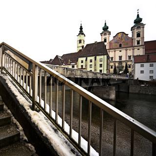 Michaelerkirche in Steyrdorf in Steyr, Oberösterreich, Österreich, Europa / Michaelerkirche in Steyrdorf in Steyr, Upper Austria, Austria, Europe