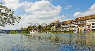 Eglisau Kanton Zürich, Schweiz