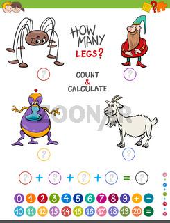 maths activity for kids