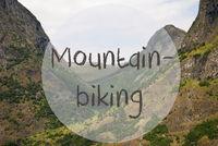 Valley And Mountain, Norway, Text Mountainbiking