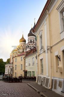 Alexander Nevsky Cathedral. Old city