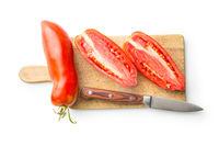 San marzano tomatoes.