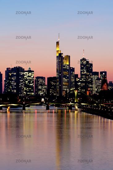 Frankfurt City, Skyline, Germany