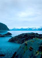 Alaskan Shoreline at Dawn