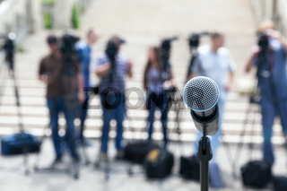 News conference