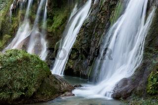 Marmore waterfalls near Terni, Umbria, Italy
