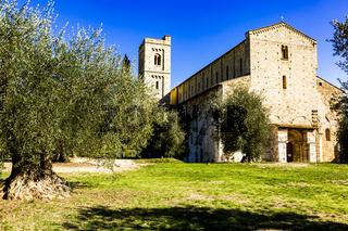 Abbazia di Sant'Antimo in Tuscany