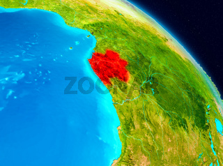 Gabon on Earth