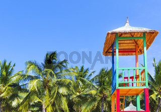 Open lifeguard tower, Nha Trang, Vietnam
