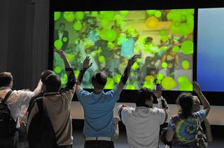 interaktive Spiele auf der Internationalen Funkausstellung IFA in Berlin