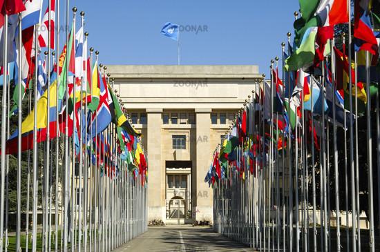 United Nations Flag Court, Geneva, Switzerland