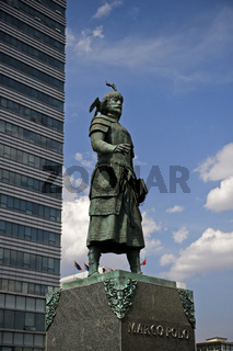 Marco Polo Statue, Ulanbator, Mongolei