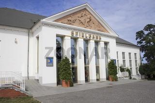 Eingang Spielcasino Seebad Heringsdorf, Usedom