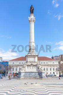 Rossio square Lisbon