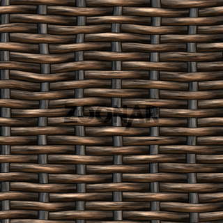 Natural Wicker Horizontal Background Or Texture, Close Up, Copy Space. Seamless pattern design