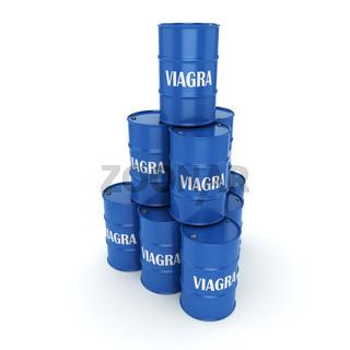 Blue barrels Viagra