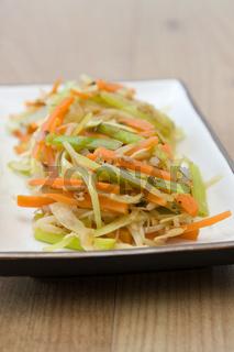 Gebratenes Gemüse - Fried Vegetables