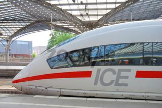 Triebkopf eines ICE 3, Deutschland, Europa