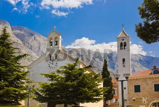 Old church at Baska Voda, Croatia