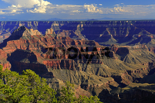 Sonnenuntergang am Bright Angel Point, Grand Canyon North Rim, N