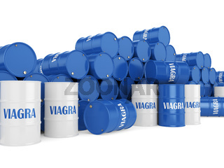 Many containers Viagra