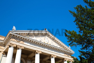 The national Theater in Oradea