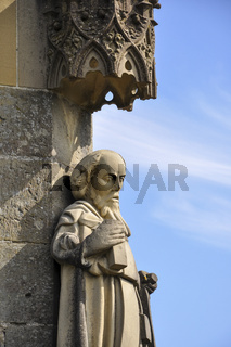 Figur von Antonius aus Padua in Rieden