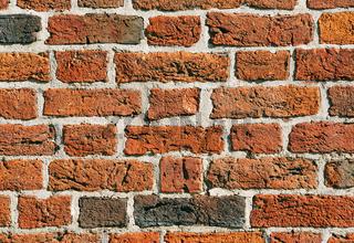 Alte Ziegelstein Mauer