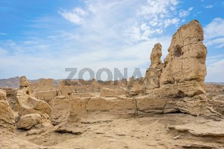 Jiaohe Ancient Ruins, Turpan, China
