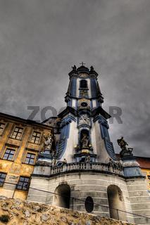 Barocke Kirche in Dürnstein in der Wachau