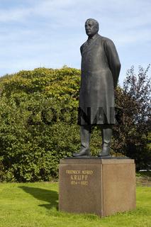 Alfred Krupp Memorial in the park of Villa Huegel