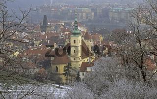 Tschechien, Prag, Praha,  Kleinseite, Sankt Maria de Victoria, W