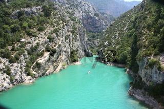 Verdon-Schlucht, Provence, Frankreich