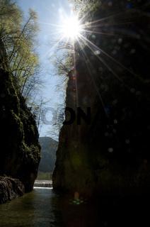 Die Schlucht Grosse Klause im Nationalpark Kalkalpen, Reichraming, Oberösterreich, Österreich