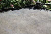 Fertilized ground for turf in the garden